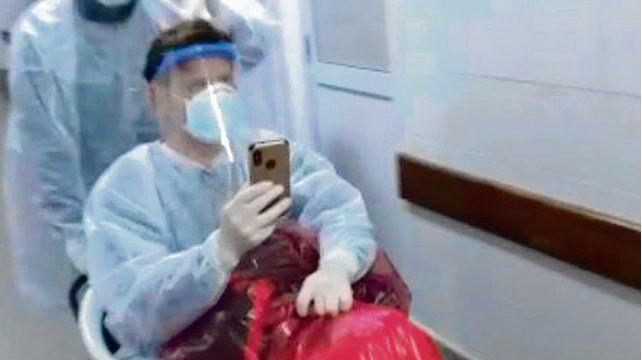 Un médico fue tratado con plasma y venció al virus