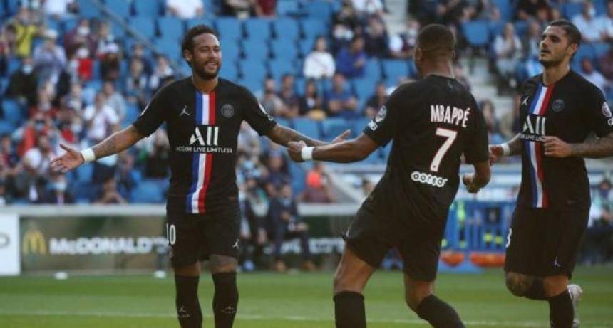 En Francia volvió el fútbol con público en los estadios