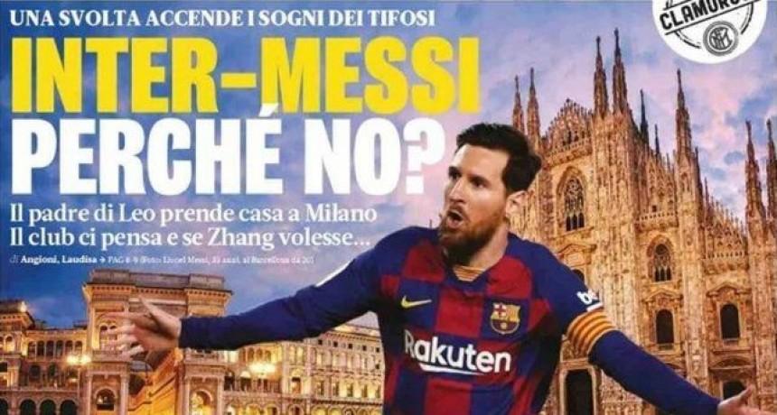 En Italia deslizan que Inter quiere quedarse con Messi
