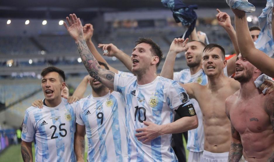 """Lionel Messi: """"Gracias Dios por haberme hecho ser argentino"""""""