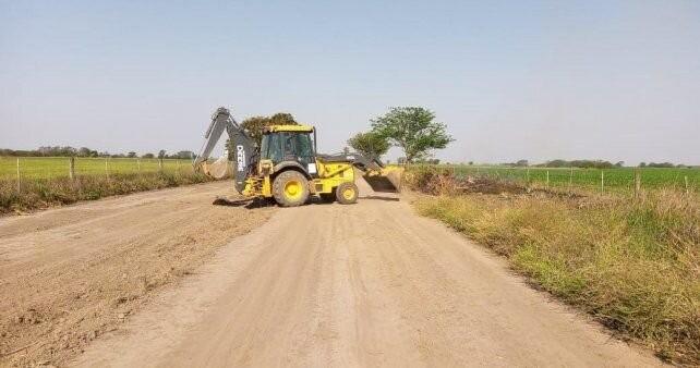 Caminos rurales: el gobierno nacional aportará 60 millones de pesos para Santa Fe