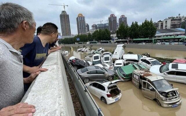 Impactantes imágenes de las inundaciones en China