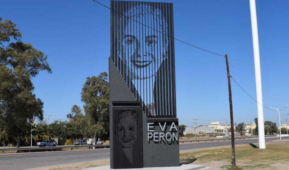 El PJ santiagueño inaugurará el Monumento a Evita en la Autopista