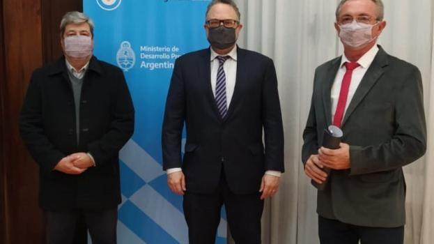 Los ministros de Producción de Nación y Provincia analizaron la actualidad en Santa Fe