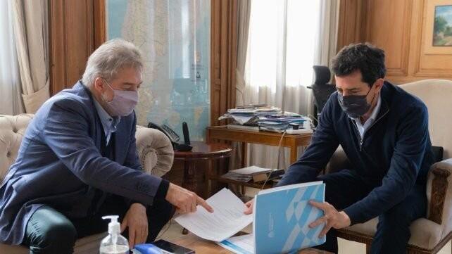 Mirabella mantuvo una reunión de trabajo con el ministro Wado de Pedro