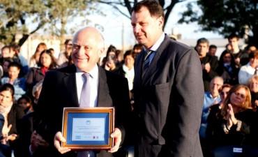 Lifschitz participó del acto por el 125º Aniversario de la fundación de la localidad La Pelada