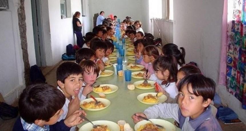 Aumento para comedores escolares