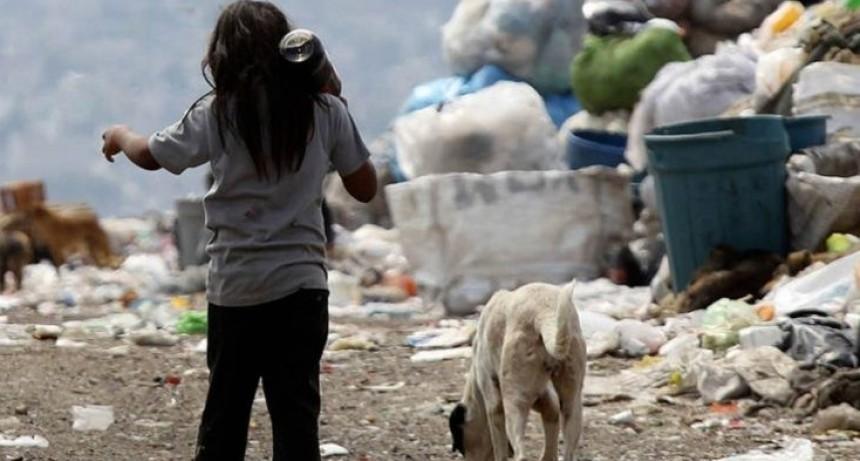 El 2020 finalizará con casi 63 por ciento de la infancia en situación de pobreza