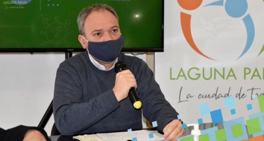 Laguna Paiva anunció medidas severas para evitar la propagación del virus