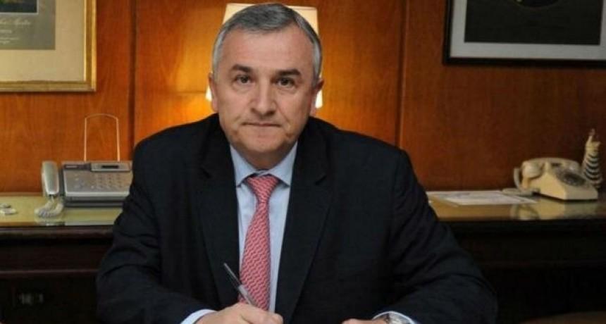 El gobernador de jujuy tiene coronavirus