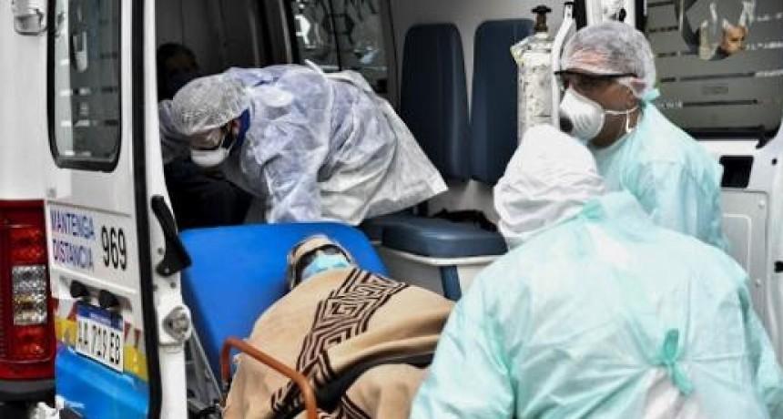 Argentina tocó un nuevo pico de contagios con 8.771 casos y otros 198 fallecimientos