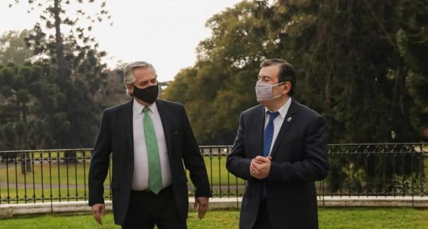 Zamora reveló los detalles de la reunión que mantuvo con el Presidente