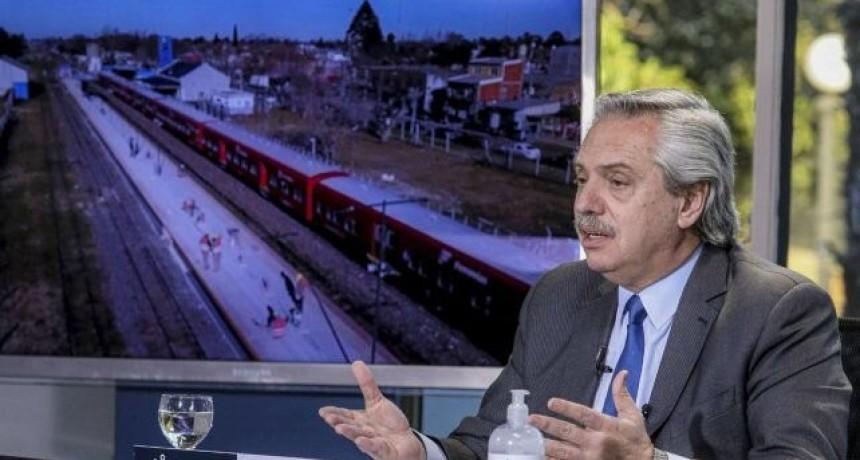 Fernández anunció que están autorizadas las reuniones al aire libre, pero no en lugares cerrados