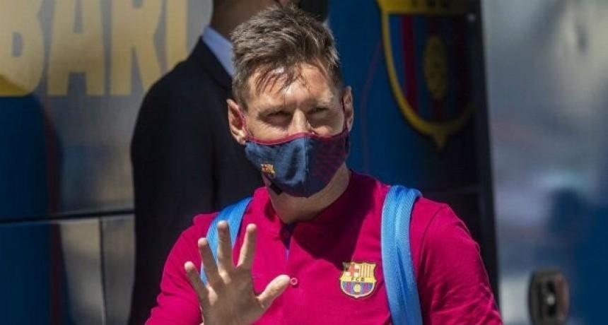 La Liga de España advierte que Messi solo podrá salir de Barcelona mediante la cláusula de rescisión