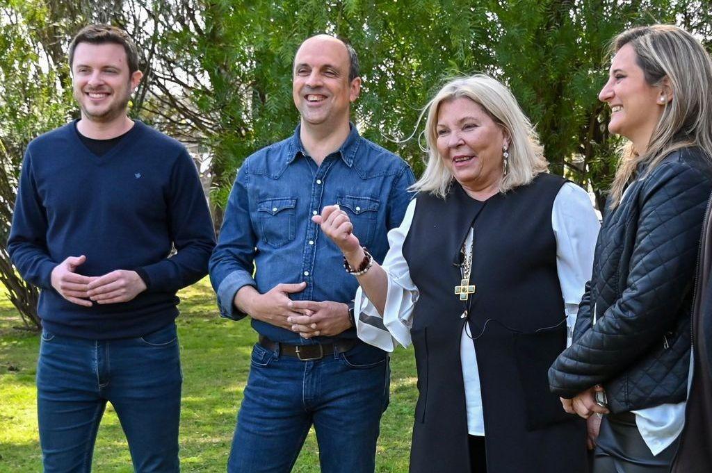 Lilita trajo el apoyo de todo Juntos por el Cambio a Corral, López Molina y Lehmann: