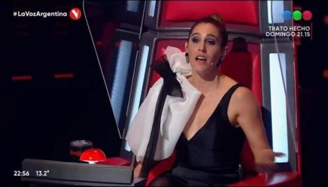 Soledad Pastorutti se enfrentó con un concursante de
