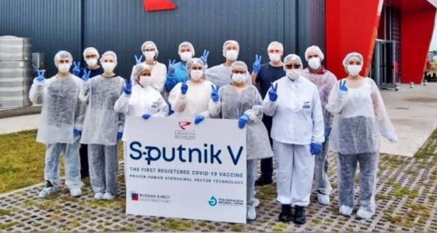 Argentina contará este mes con más de 3 millones del componente dos de la Sputnik V