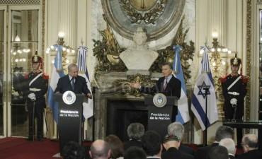 Macri y Netanyahu firmaron acuerdos bilaterales
