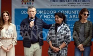 Macri en Añatuya: