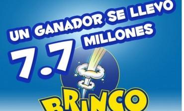 Un sólo apostador se llevó $7,7 millones en el Brinco