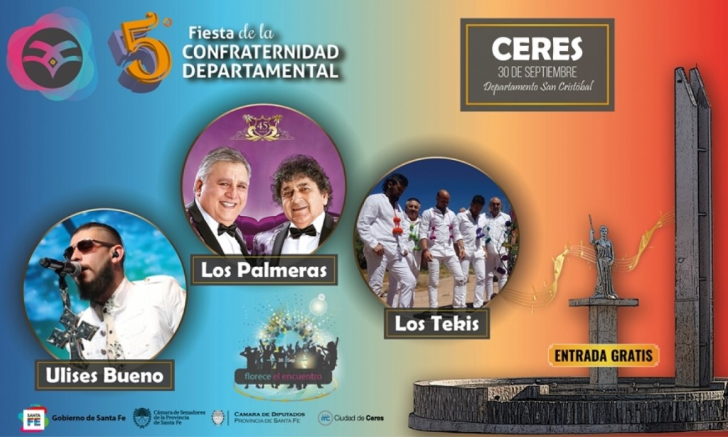 Se confirma la realización de 5ta. Fiesta de la Confraternidad Departamental