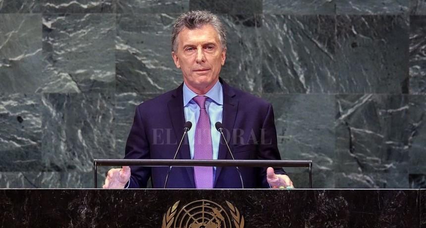 En la ONU Macri dijo que Argentina está cambiando