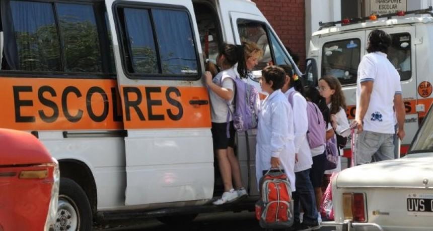 Aumentan los transportes escolares