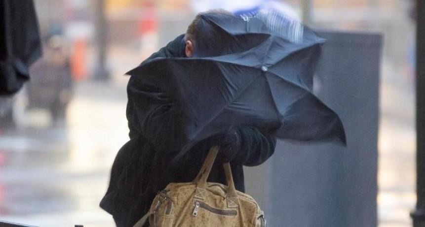 Alerta por vientos fuertes para Santa Fe