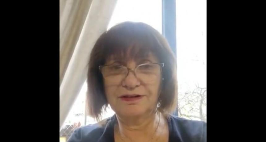 Patricia Bullrich tiene coronavirus y está internada