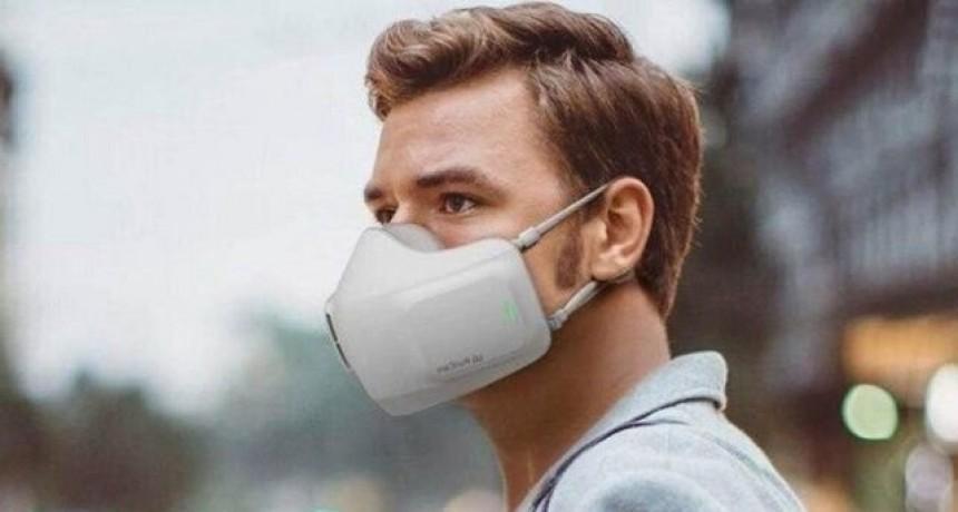 Crearon un barbijo electrónico que purifica el aire bloqueando virus y bacterias