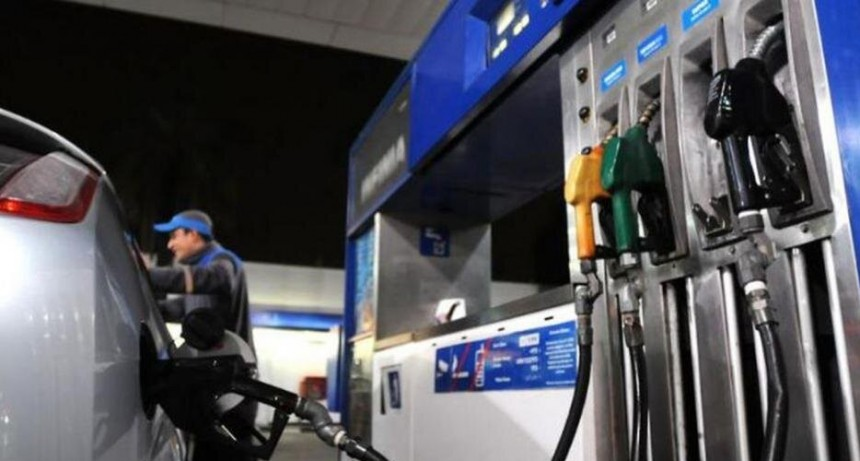 Se implementó un aumento del 3,5% promedio en los combustibles de YPF