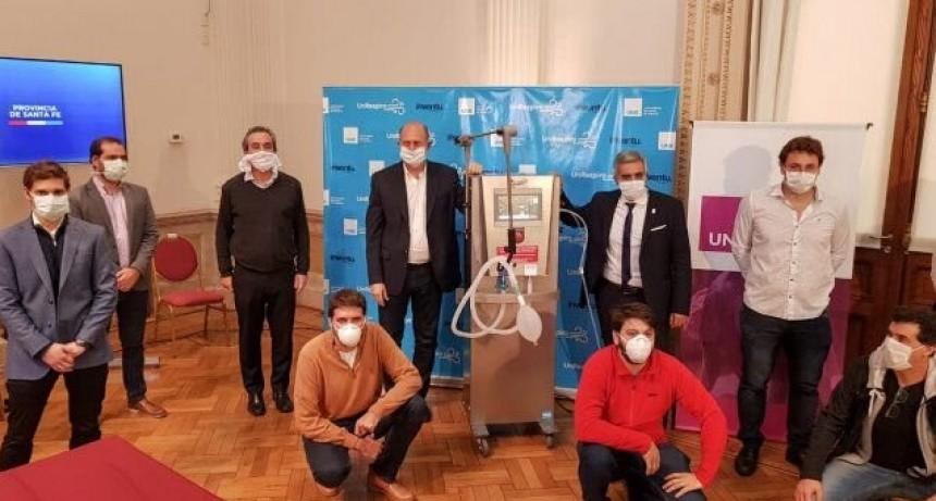 Coronavirus: el respirador modelo rosarino ya puede fabricarse para todo el país