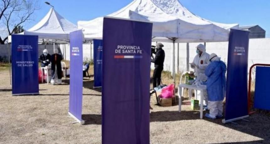 Con un nuevo pico de 1.688 casos y otras 16 muertes, Santa Fe superó los 30 mil contagios y 300 decesos