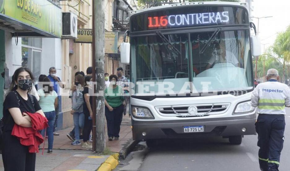 Ciudad Capital: ordenaron ampliar el horario de circulación de los colectivos urbanos