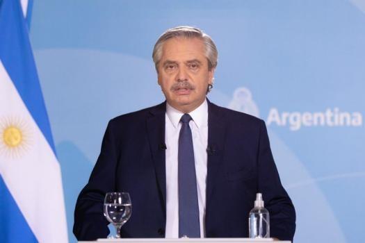 """Alberto Fernández: """"Este camino que iniciamos en 2019, en lo que a nosotros concierne, no se va a alterar"""""""