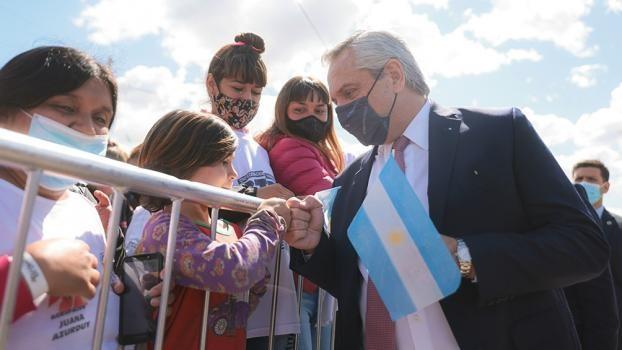 Alberto Fernández en modo electoral: