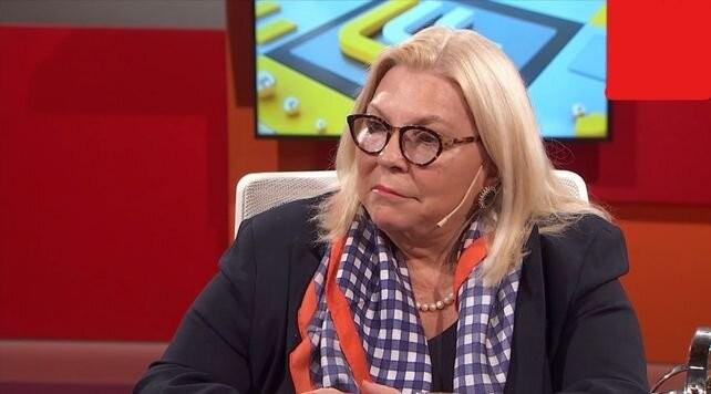Elisa Carrió sobre el regreso de Aníbal Fernández: