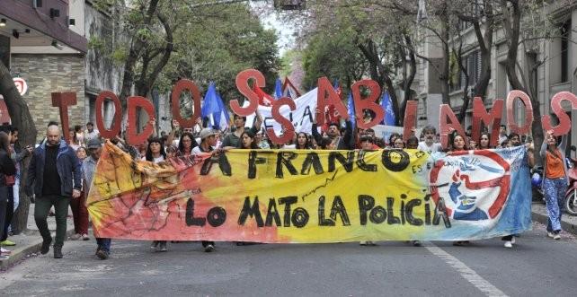 El juez Vera Barros procesó a 30 policías por la desaparición forzada de Franco Casco