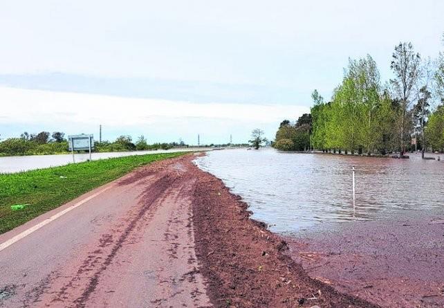 La intensa tormenta afectó a poblaciones del centro provincial