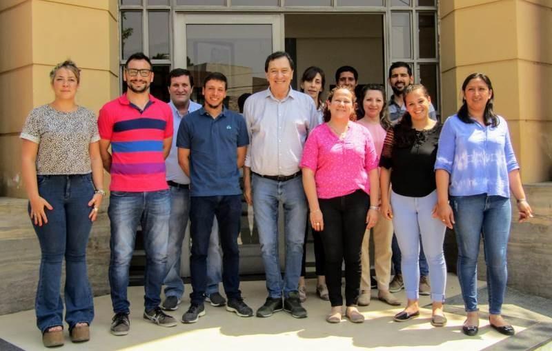 Las Toscas: Leandro Chamorro presentó el gabinete más joven de la región