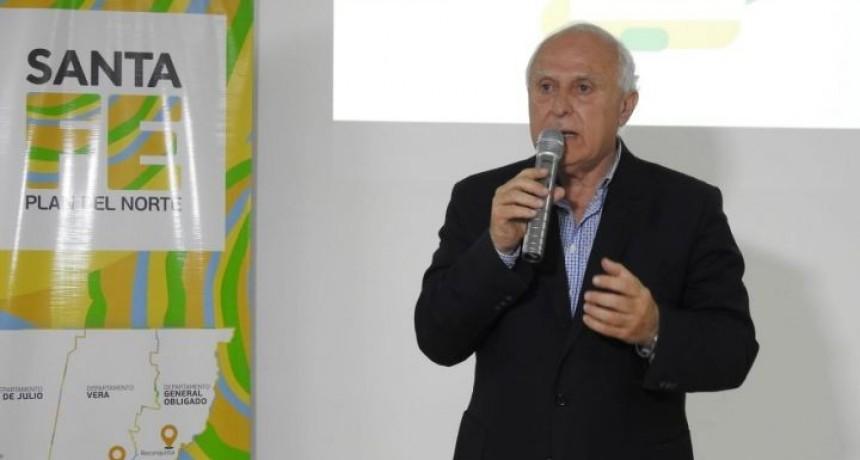 Lifschitz presentó en Reconquista el proyecto de Ley del Plan del Norte