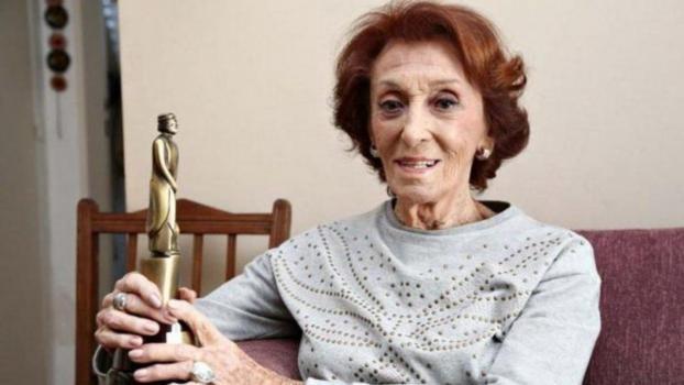 A los 99 años, la actriz Hilda Bernard superó el coronavirus