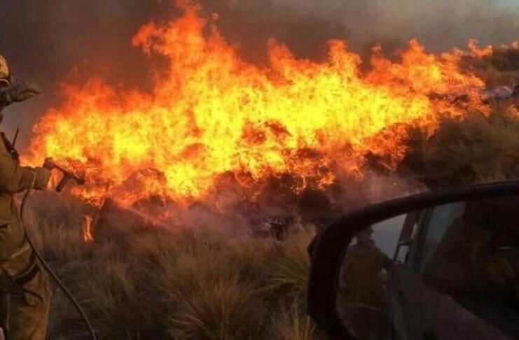 Córdoba: la caída de rayos provocó dos nuevos incendios