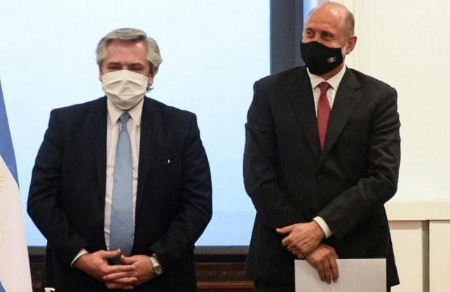 Fernández y Perotti anunciarán la construcción de un acueducto biprovincial