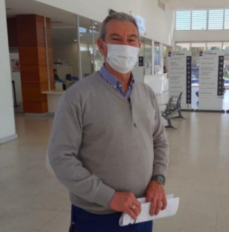 El director del Hospital Iturraspe está internado en terapia intensiva por Covid19