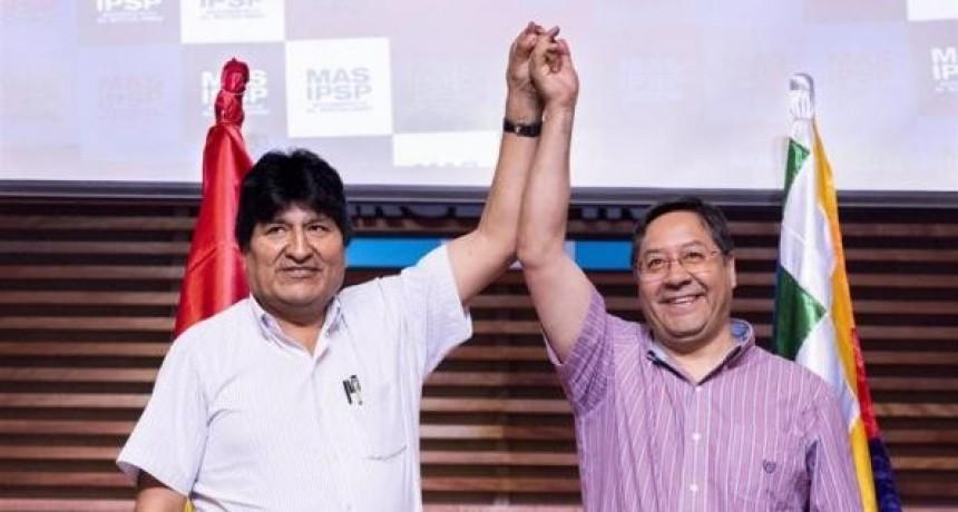 Luis Arce, el candidato del MAS se impone en primera vuelta en Bolivia