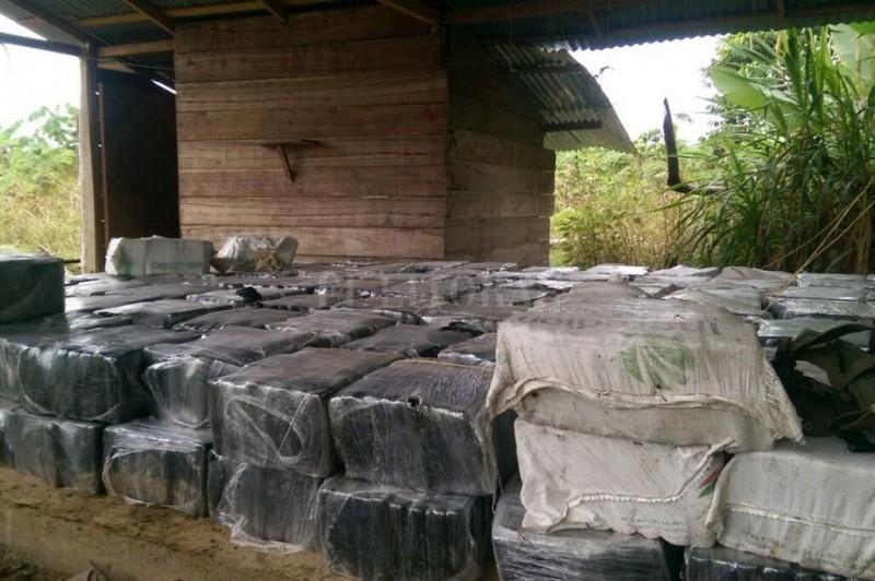 Histórico hallazgo de más de 12 toneladas de cocaína en Colombia