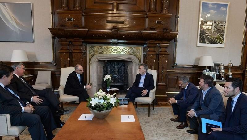 Macri se reunió con autoridades de General Motors