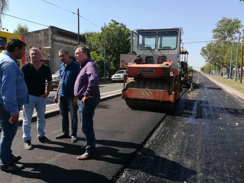 """Michlig y Rigo relevaron obras de trascendencias para la ciudad de San Cristóbal con una inversión pública de $ 170 millones """""""