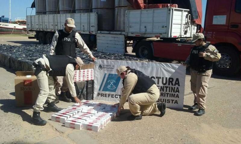 Secuestraron un cargamento de cigarrillos en el norte santafesino
